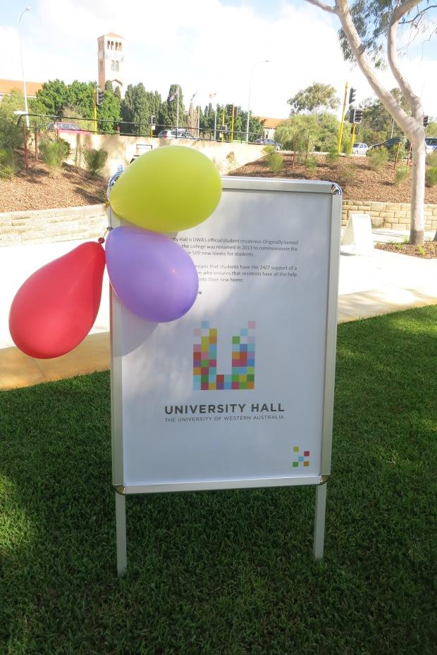 University Hall UWA Open Day